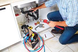 Changer le robinet et plomberie